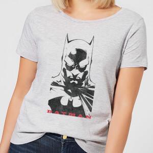Camiseta DC Comics Batman Mirada - Mujer - Gris