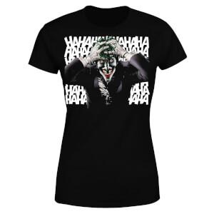 DC Comics Batman Killing Joker HaHaHa Women's T-Shirt - Black