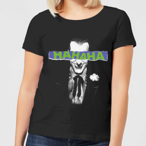 DC Comics Batman Joker The Greatest Stories Women's T-Shirt in Black