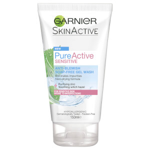 Garnier Skin Naturals Pure Active Sensitive - Gel Cleanser