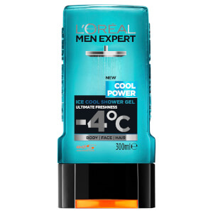 L'Oréal Paris Men Expert Cool Power Shower Gel 300ml - AU