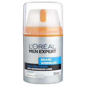L'Oréal Paris Men Expert Erase Wrinkles Moisturiser 50ml - AU