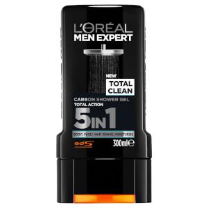 L'Oréal Paris Men Expert Total Clean Shower Gel 300ml - AU