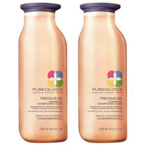 Pureology Precious Oil Colour Care Shampoo Oil Duo 250ml