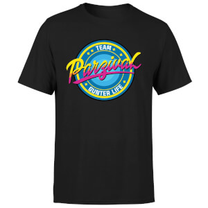 Camiseta Ready Player One Team Parzival - Hombre - Negro