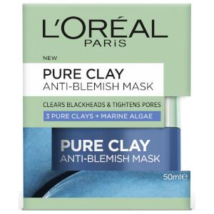 L'Oréal Paris Clay Blue Mask Anti Blemish
