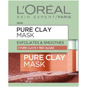 L'Oréal Paris Extraordinary Clay Masks Exfoliate