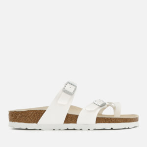 Birkenstock Women's Miyata Slim Fit Double Strap Sandals - White