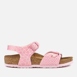 Birkenstock Kids' Rio Double Strap Sandals - Magic Snake Rose