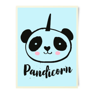Pandicorn Art Print