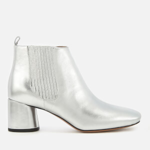 Marc Jacobs Women's Rocket Heeled Chelsea Boots - Silver