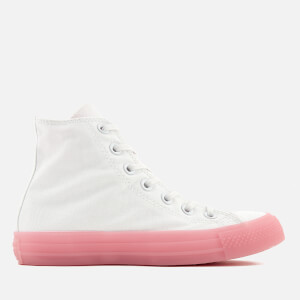 Converse Women's Chuck Taylor All Star Hi-Top Trainers - White/Cherry Blossom