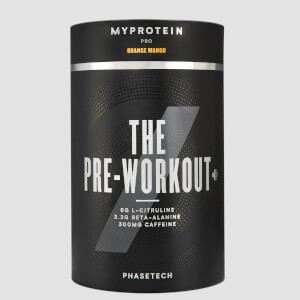 THE Pre Workout+ with PhaseTech