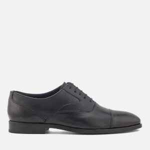 PS by Paul Smith Men's Tompkins Leather Toe Cap Oxford Shoes - Black