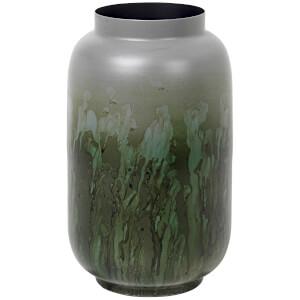 Broste Copenhagen Eik Iron Vase - Drizzle Chinos Green