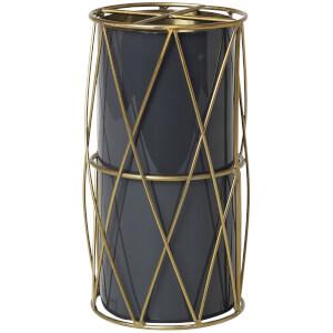 Broste Copenhagen Silje Brass Round Vase - Castlerock