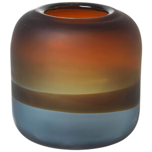 Broste Copenhagen Vitus Mouthblown Glass Vase - Indian Tan