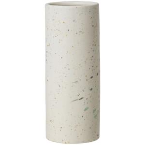 Broste Copenhagen Terraz Large Ceramic Vase - Ivory