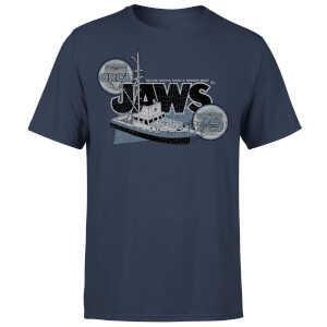 T-Shirt Lo Squalo Orca 75 - Blu Navy