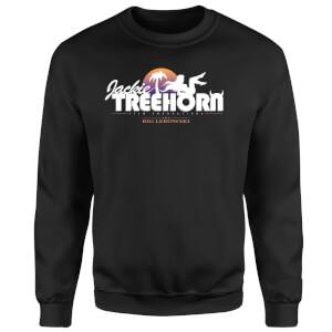 The Big Lebowski Treehorn Logo Pullover - Schwarz
