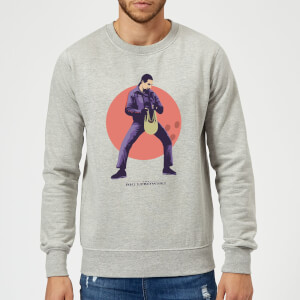 The Big Lebowski The Jesus Sweatshirt - Grey