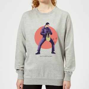 Sweat Femme The Big Lebowski The Jesus - Gris