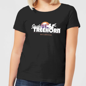 The Big Lebowski Treehorn Logo Women's T-Shirt - Black