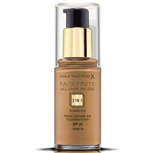 Max Factor Facefinity 3 in 1 All Day Flawless Foundation 30ml - 90 Toffee