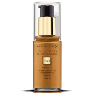 Max Factor Facefinity 3 in 1 All Day Flawless Foundation 30ml -meikkivoide, 95 Tawny