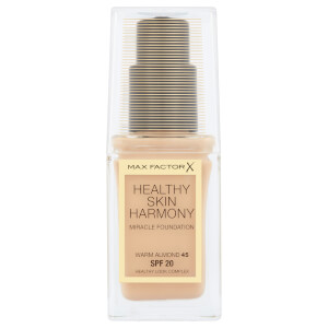 Max Factor Healthy Skin Harmony Foundation -meikkivoide 30ml, 45 Warm Almond