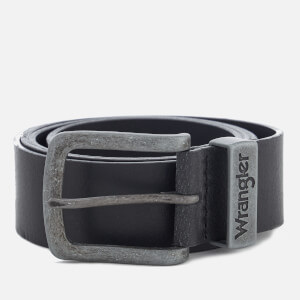 Wrangler Men's Metal Loop Belt - Black