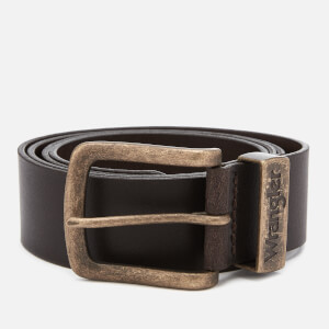 Wrangler Men's Metal Loop Belt - Brown