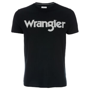 Wrangler Men's Logo T-Shirt - Black