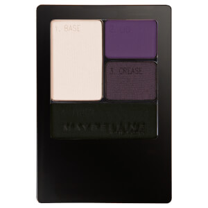 Maybelline Expertwear Quad Eye Shadow - 06 Amethyst Smokes 4.8g