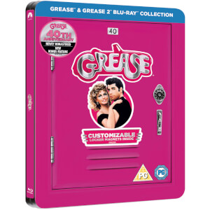 Grease 40.º Aniversario (Grease + Grease 2) - Steelbook Edición Limitada Exclusivo de Zavvi