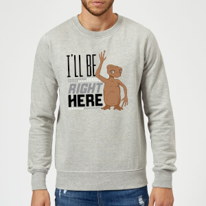 ET Ill Be Right Here Pullover - Grau