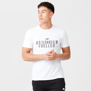 Ambition Fuelled T-Shirt - White