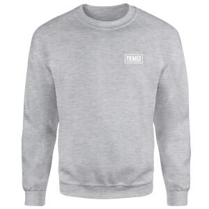 Primed Guardian Crew Neck Sweatshirt - Grey