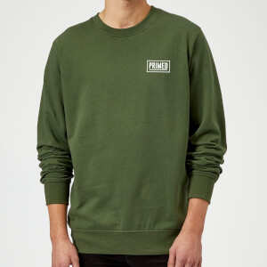 Primed Guardian Crew Neck Sweatshirt - Forest Green