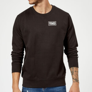 Primed Guardian Crew Neck Sweatshirt - Black