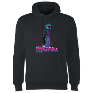 Ready Player One Parzival Key Kapuzenpullover - Schwarz