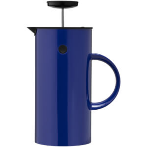Stelton EM French Press Coffee Maker - 1L - Ultramarine