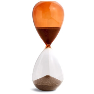 HAY Time Hourglass - 30 Minutes - Burnt Orange