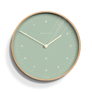 Newgate Mr. Clarke Wall Clock - Bubble Green