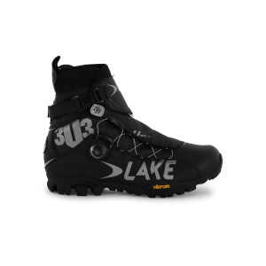 Lake MXZ303 Wide Fit Winter MTB Boots - Black