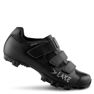 Lake MX161 Wide Fit MTB Shoes - Black