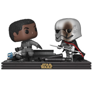 Star Wars The Last Jedi Finn & Captain Phasma Funko Pop! Movie Moment
