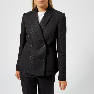 PS by Paul Smith Women's Spot Double Breasted Jacket - Black