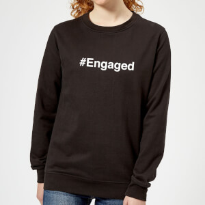 Engaged Women's Sweatshirt - Black