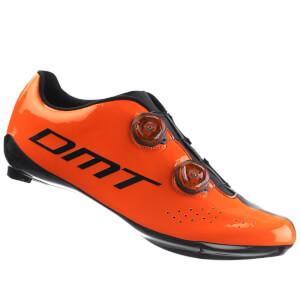 DMT R1 サイクリングシューズ - オレンジ/ブラック